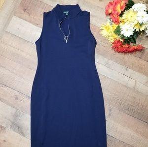 Lauren Ralph Lauren medium dress Blue Sleeveless